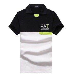 Новое брендовое поло EA7