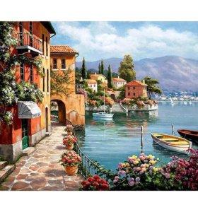 Картина-раскраска по номерам Венеция