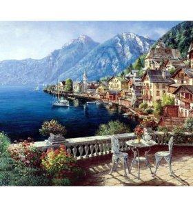Картина-раскраска по номерам Средиземноморье