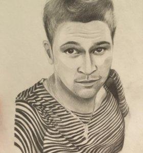 Портрет,рисунок,дизайн на заказ