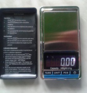 Весы карманные 100 g. X 0.01 g.