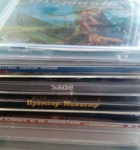 Музыкальные CD 6 шт