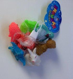 Набор из 7 игрушек для ванны ,детское купание
