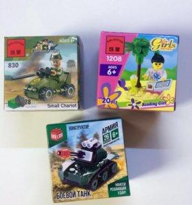 Конструктор аналог Лего для девочек и мальчиков