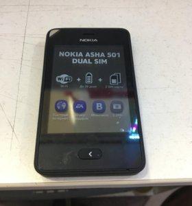Телефон Nokia Asha 501 DS