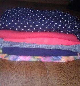 Пакет женской одежды s-m
