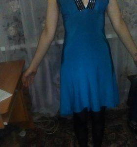 Платье с лифом