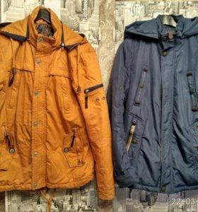 Куртки( весна- осень),состояние отличное