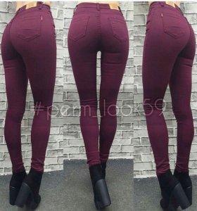 джинсы на худенькую девочку 12-13 лет