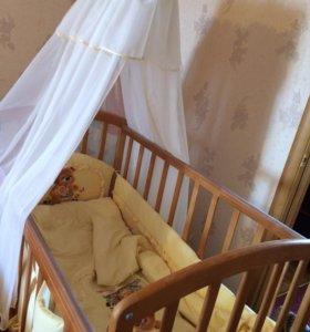 Дeтская кроватка