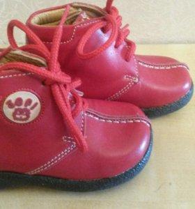Новые ботиночки! Натуральная кожа!