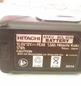 Аккумулятор 10,8 для hitachi
