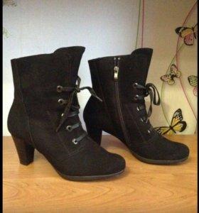 Ботинки -ботильоны,зима ,новые.