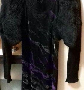 Продам платье и болеро трикотаж (комплект)