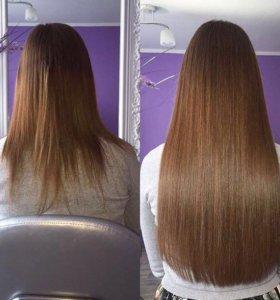 Наращивание волос (микрокапсульное)
