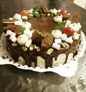 Торты, кексы, капкейки, пирожные на заказ