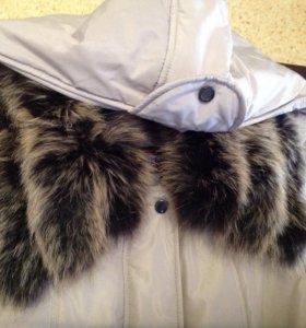 Пальто пуховик  женский зима