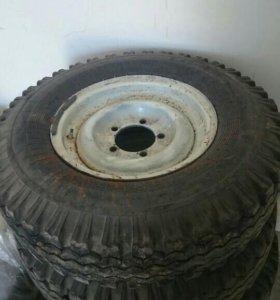Шины с дисками на УАЗ