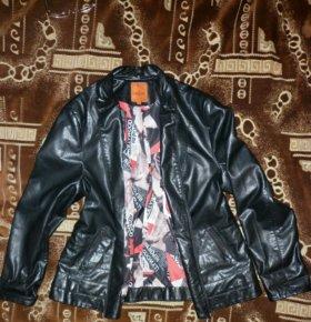Кожаная куртка. Новая. 54 размер.