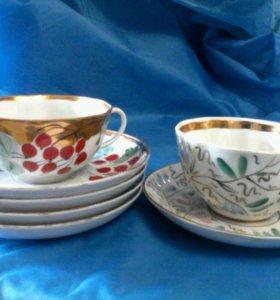 Чайный и кофейный сервиз. Кружки.