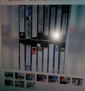 Видео кассеты 110 штук видео плеер в подарок