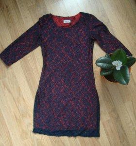 Платье Новое гипюр