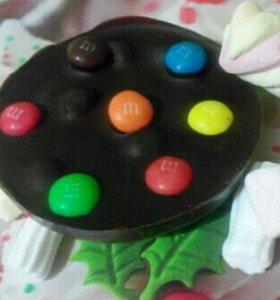 """Шоколадка """"Три шоколада"""" вкусный подарок)"""