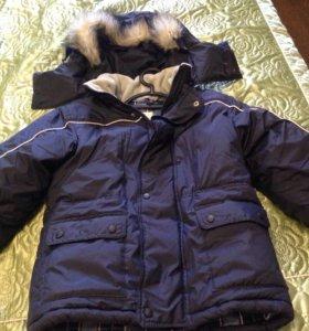 Куртка для мальчика пуховик на 5 лет