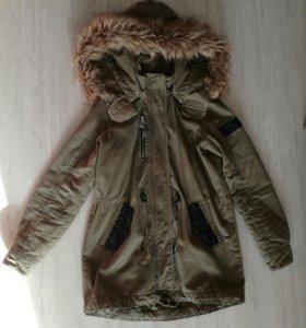 Парка, куртка, Bershka