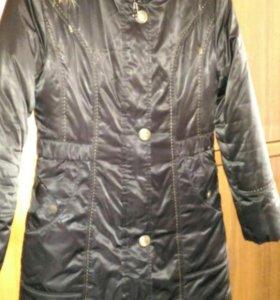 Куртка весенняя + подстёжка зимняя, как новая!!!!