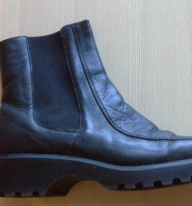 Ботинки осенние унисекс р. 39 кожа