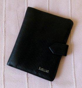 Кожаный кошелек портмоне унисекс