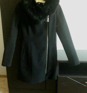 Пальто утепленное синтепоном