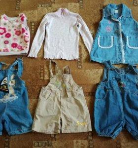 Одежда на девочку 78—96