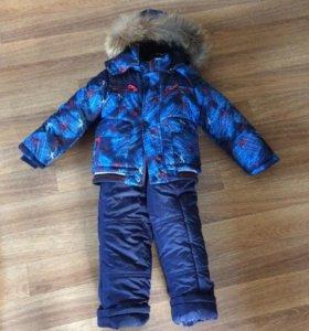 Зимний костюм для мальчика р.92