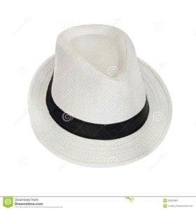 Шляпа (плетеная) в прекрасном состоянии.