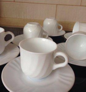 🔴 чашки для кофе Испания сахарница