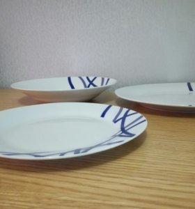 Набор керамических тарелок