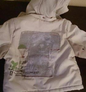 Курточка на весну 6-12 месяцев