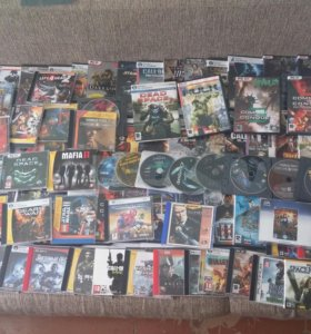 CD диски для компьютера с различными играми