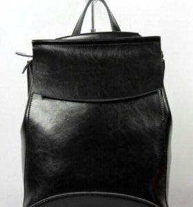 Рюкзак женский кожаный + подарок