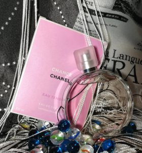 Оригинал. Chanel CHANCE Eau Tendre. Шанель