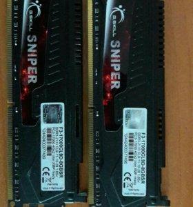 G.SKILL DDR3-2133 Mgz / 16gb