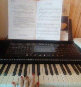 Обучение игре на синтезаторе
