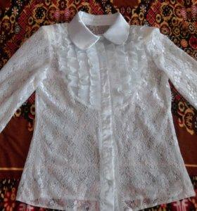 Блузка-школьная