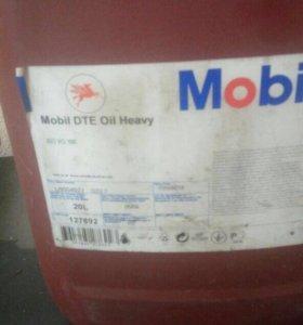 Масло Mobil dte oil heavy 20 литров