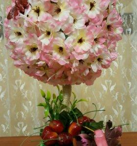 """Топиарий """"Цветущая вишня"""""""
