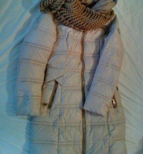 Курточка с шарфом