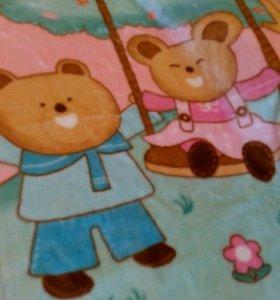Плед одеяло для малышки