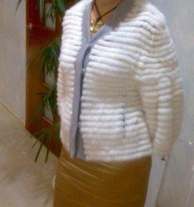 Жакет женский норковый